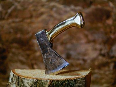 Brass Axe